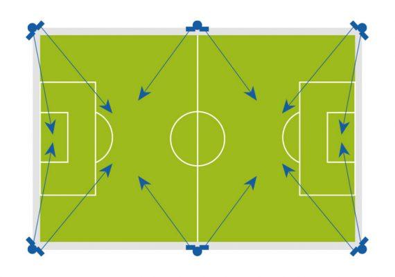 2 Oostendorp Nederland Led Verlichting Voetbal Wedstrijdveld Optie1 1