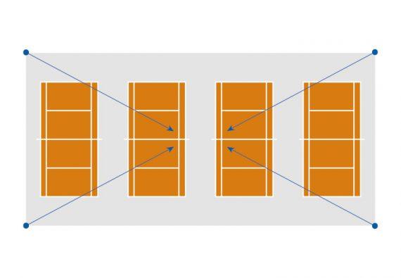 Oostendorp Nederland Tennis 4baans Hoek Img1