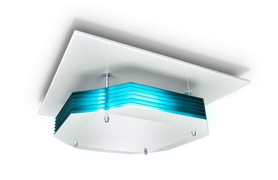 Oostendorp Nederland Philips UV C Desinfectionerende Plafondinstallatie AIR